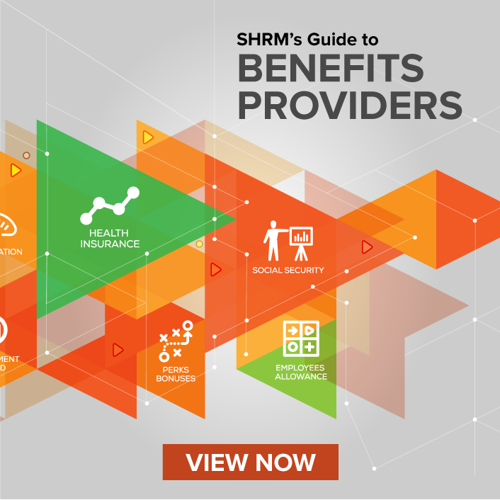 View SHRM's Guide to Benefits Providers