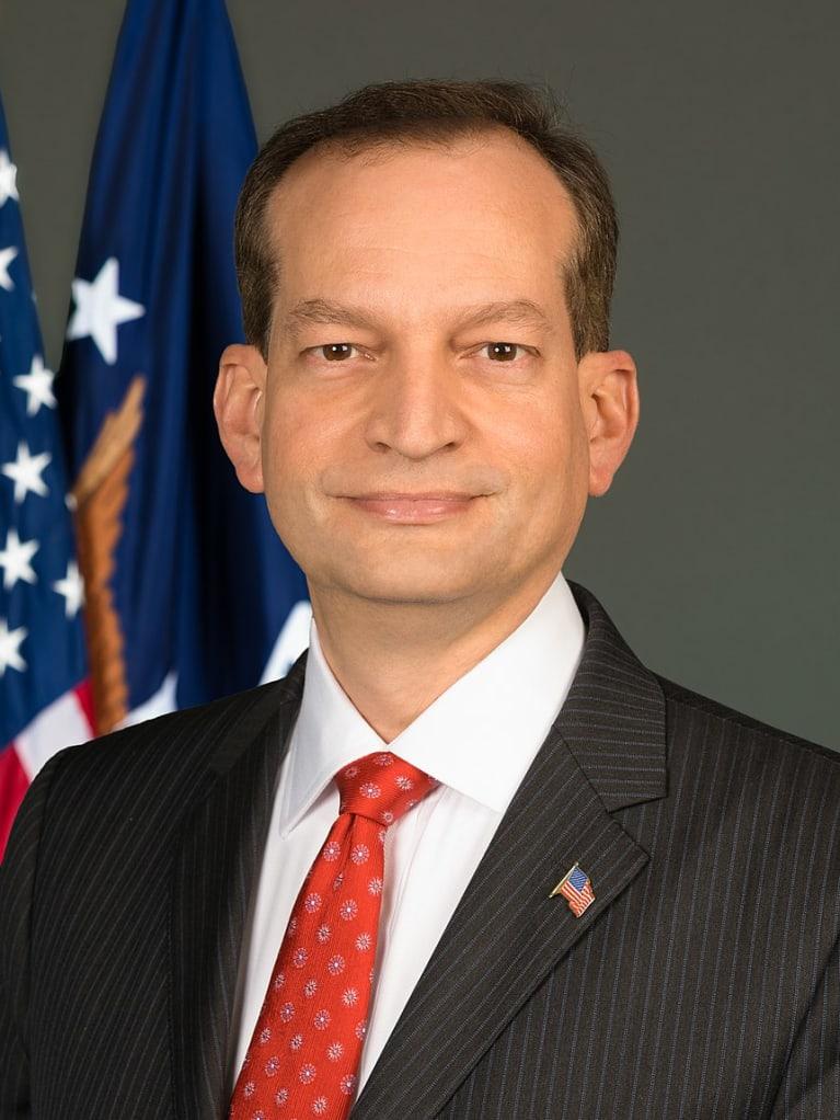 Labor Secretary Acosta Talks About Deregulation, Gig Economy