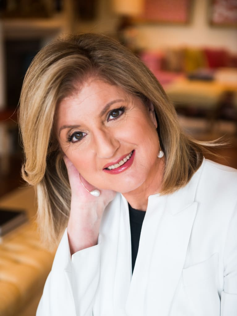 SHRM Foundation Welcomes Arianna Huffington in discussion on Workplace Mental Health at SHRM Foundation Inaugural Tharseō Awards