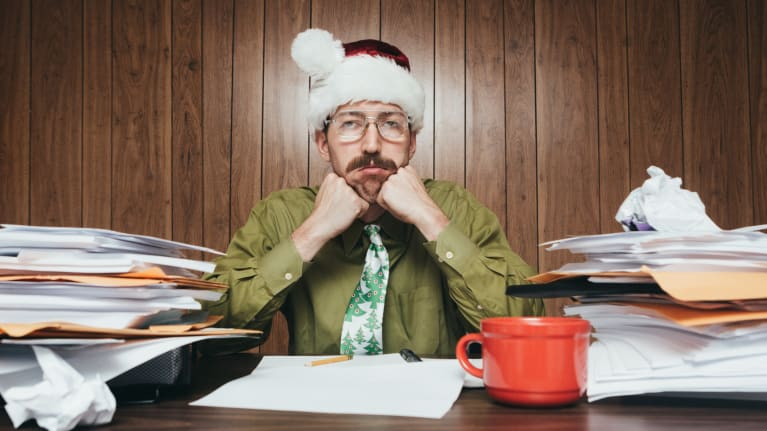 Fa La La La Blah: When Employees Find Workplace Holiday Parties Boring, Obligatory