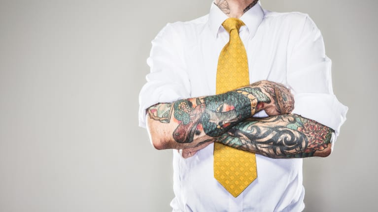What Are an Applicant's Tattoos Telling Potential Employers?