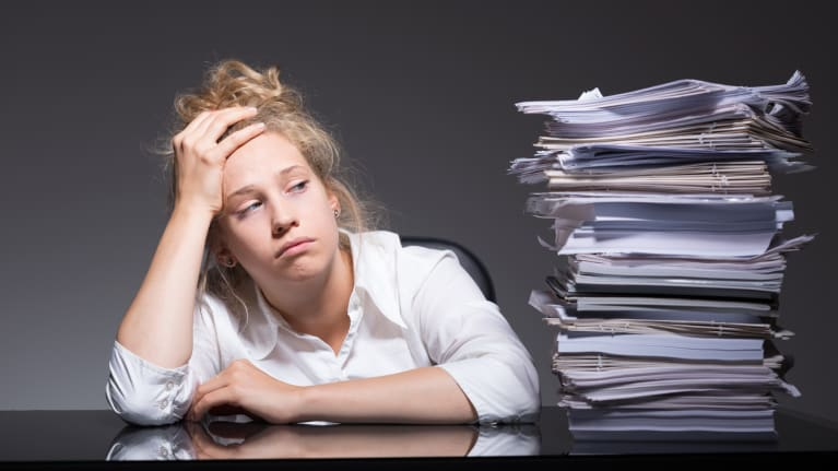 Workplace Burnout at 'Epidemic Proportions'