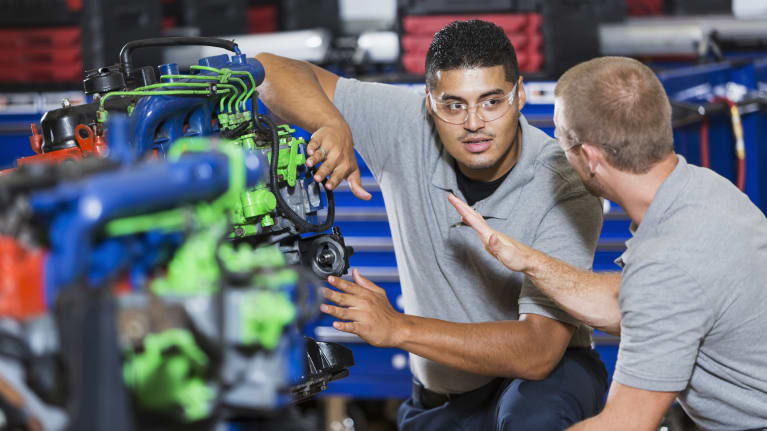Apprentices Value Hands-On Work-Based Learning