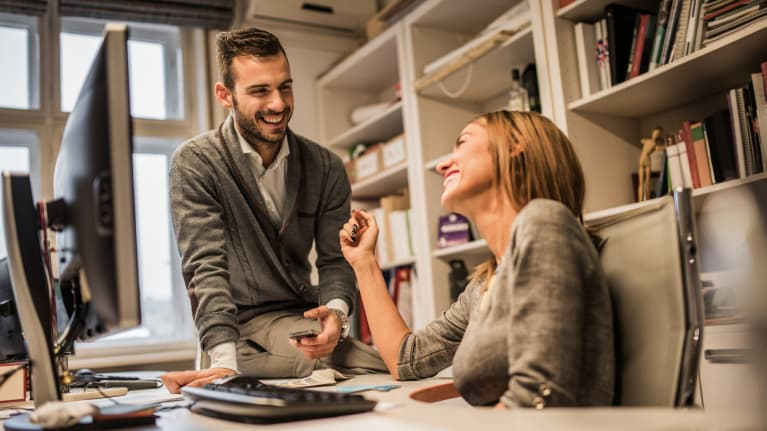 Romance at Work: Employees Don't Trust HR to Keep Their Secret