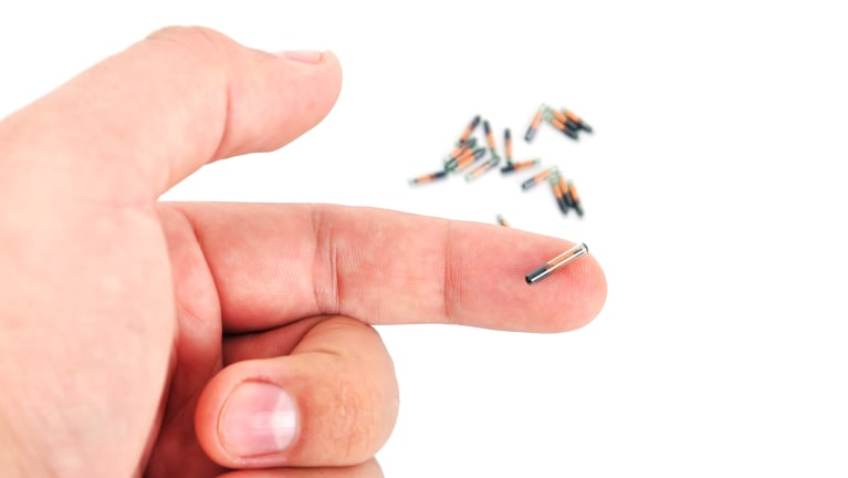 pros and cons of microchip implantation in humans The diffusion of rfid implants for  in investigating the potential adoption of microchip implants for humans,  to look at the pros and cons of adopting.