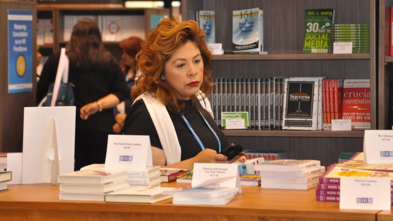 Have Your Books Signed by SHRM21 Authors