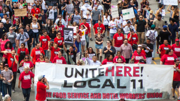 Labor Unions Fight Immigration Enforcement