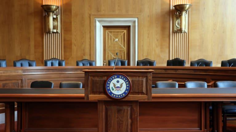 Senate hearing