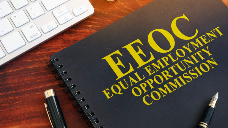 EEOC manual on desk