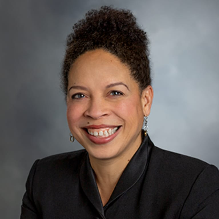 executive vice president, global DE&I officer, Dawn Frazier-Bohnert.