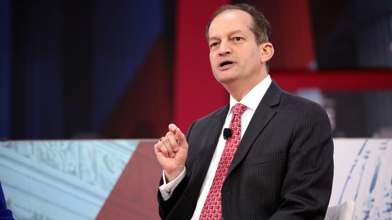 Labor Secretary Alex Acosta Resigns; Acting Secretary Said to Be More 'Pro-Business'