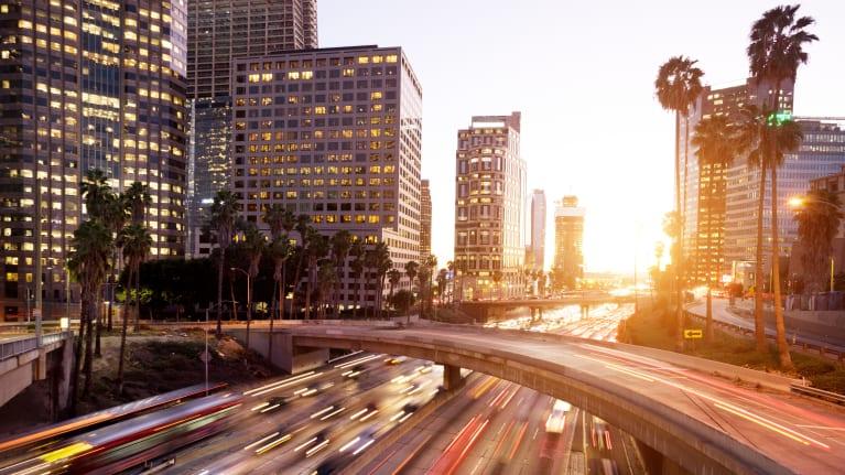 Los Angeles roads