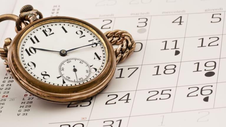 compressed workweek calendar