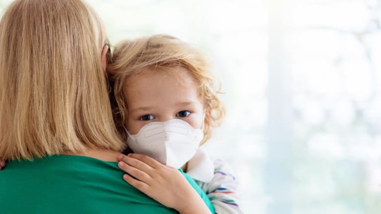 caregiving child surgical mask