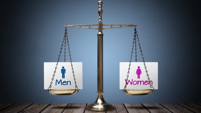 gender pay scale