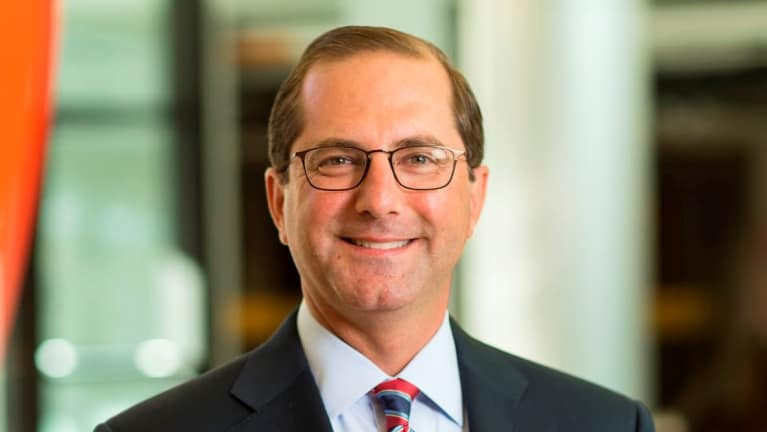 Trump Nominates Pharma Exec Alex Azar as Next HHS Secretary