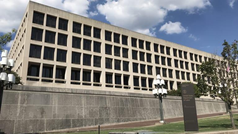 Labor department building