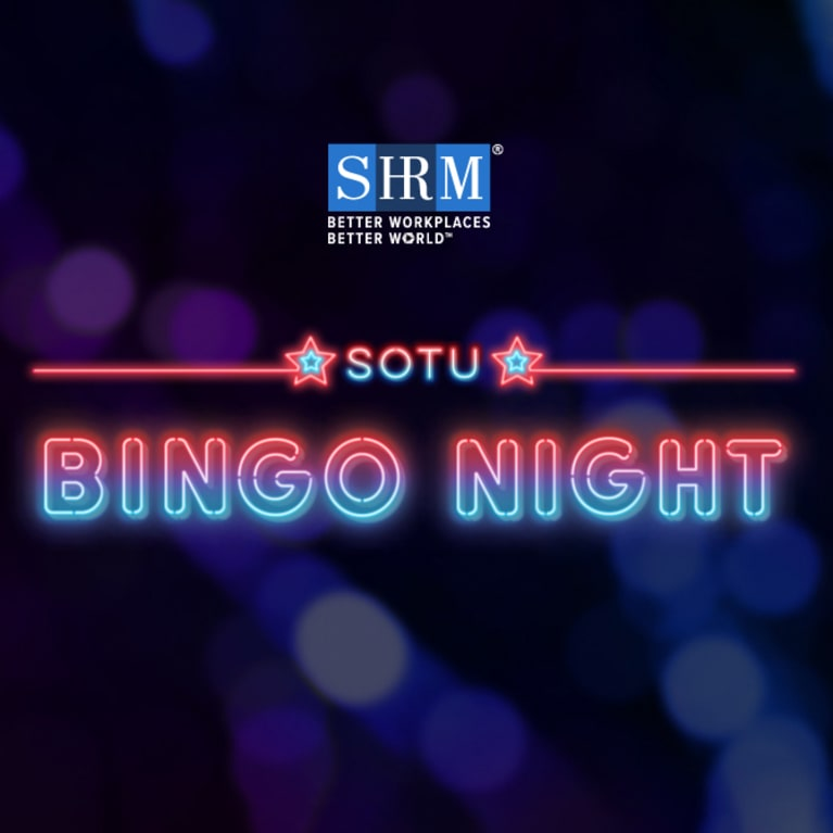 SHRM SOTU Bingo Night