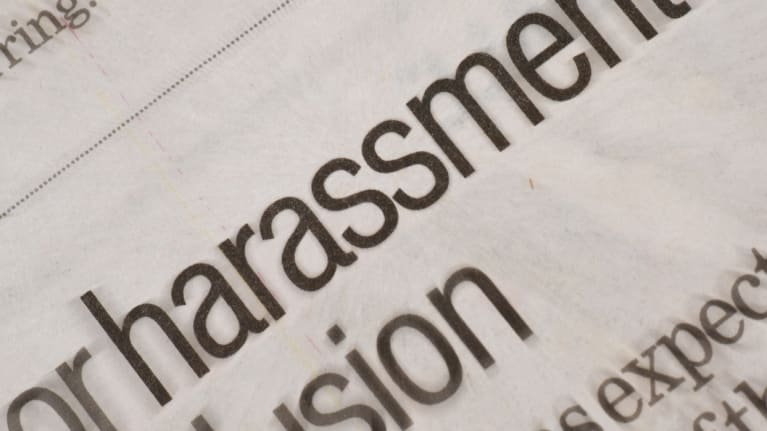 Changing Expectations on Sexual Harassment Policies and Training