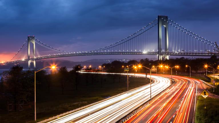 New York road
