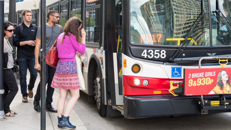 Traumatized Bus Driver Could Not Return to Work Until Cleared