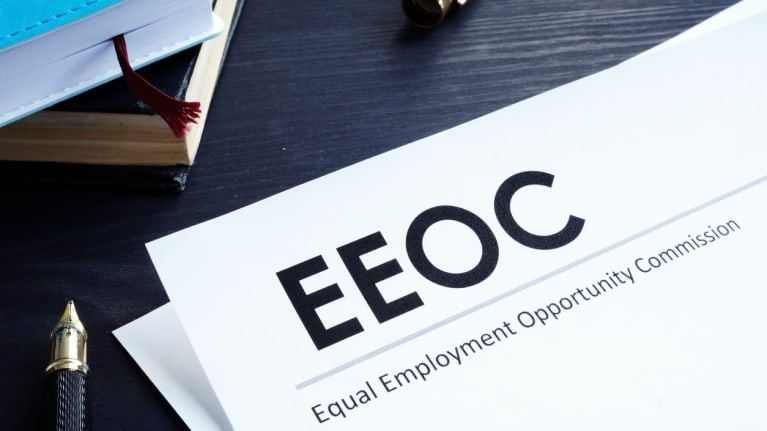 letterhead with EEOC at the top