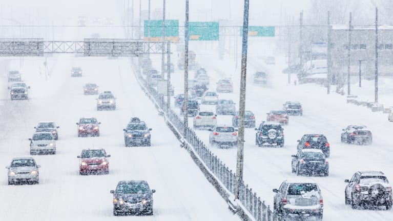 When Winter Weather Makes Commuting Dangerous