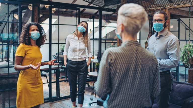 How to Build Rapport While Wearing a Face Mask