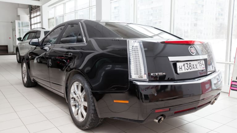 a Cadillac dealership
