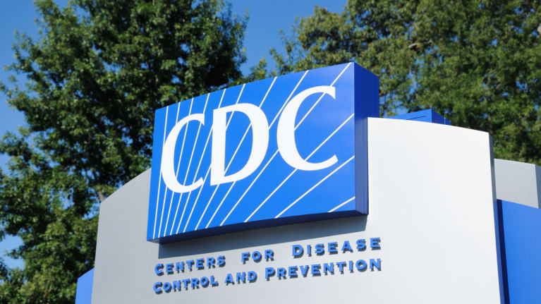 sign outside Centers for Disease Control and Prevention