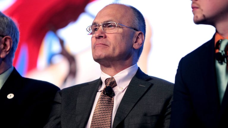 In Focus: Opponents of Andrew Puzder's Nomination As Labor Secretary Highlight Controversies