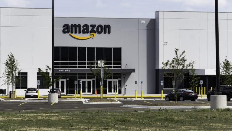 an Amazon facility
