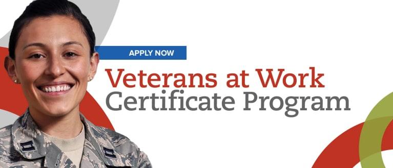 Veterans at Work Certificate Open for Registration