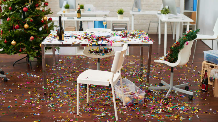 How to Survive Your Office Holiday Party