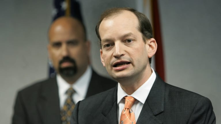 Alexander Acosta Is Trump's New Pick for Labor Secretary