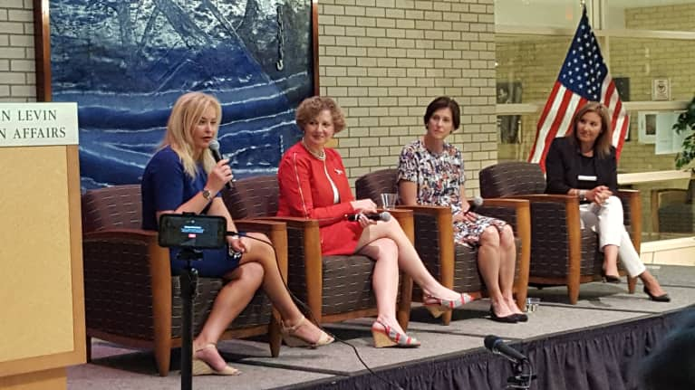 'Women's Issues' Include Tax Reform, Tackling Opioid Addiction
