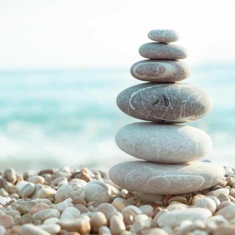 stack of rocks