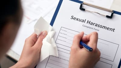 Funny sexual harassment complaint form