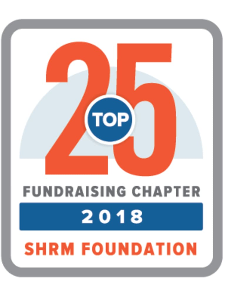 2018 Top 25 Fundraising Chapters