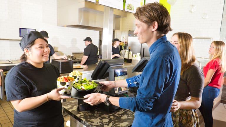Automation Scrambles Fast Food Restaurant Staffing
