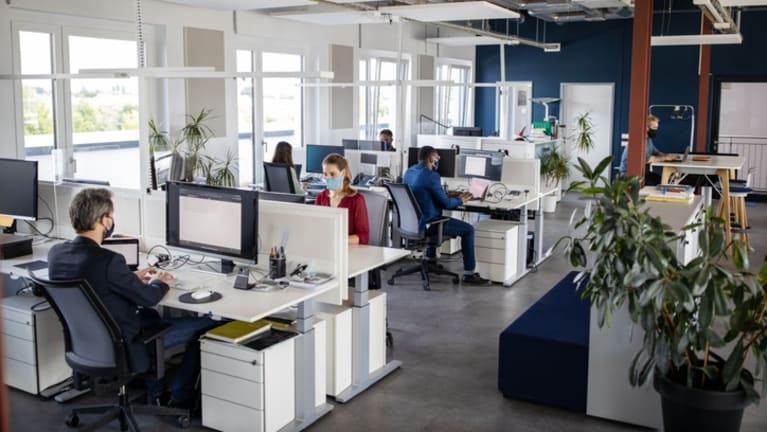 As Offices Reopen, Hybrid Onsite and Remote Work Becomes Routine