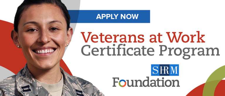 Earn Your Veterans at Work Certificate
