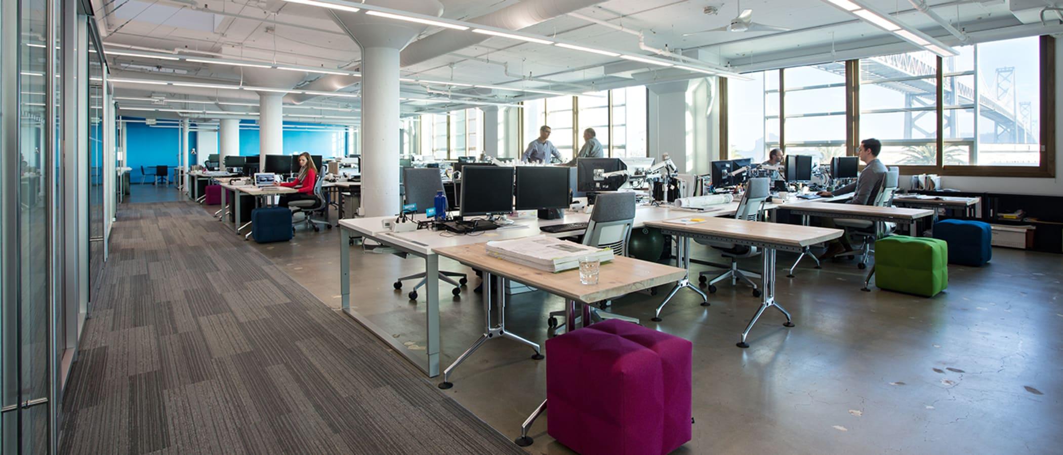 Open floor office Workplace Shrm Beyond The Open Office