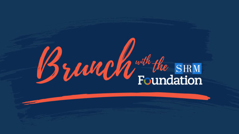 Brunch with the Foundation at #SHRM19
