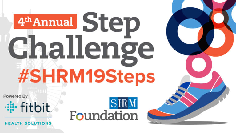 4th Annual Step Challenge at #SHRM19