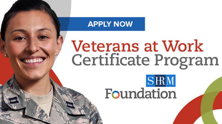Veterans At Work Certificate Program