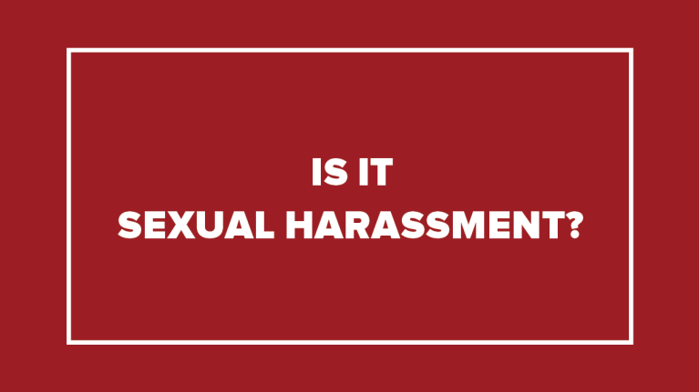 Performance action plan for sexual harassment