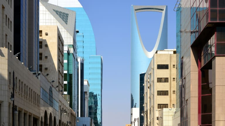 Riyadh business district