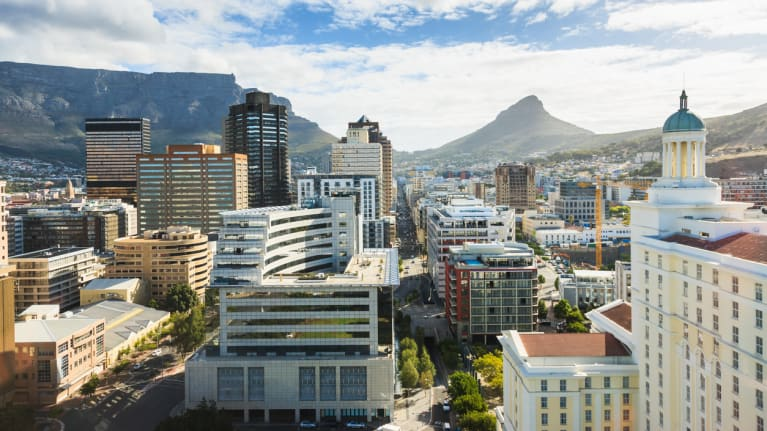 Capetown business district