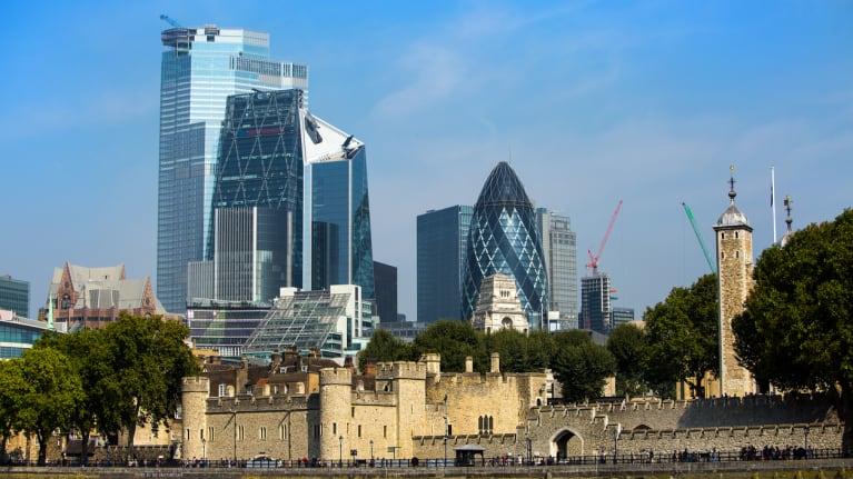 London skyscrapers